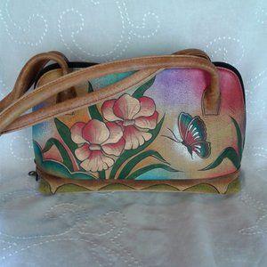 Anuschka Bag Hand Painted Leather